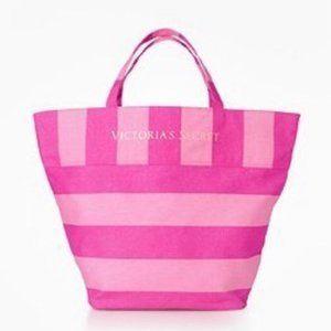 Victoria's Secret   Large Canvas Tote   Swim Bag